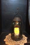 #CSMJL092016 Mason Jar Lantern