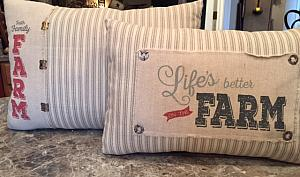 Vintage Farm Pillows