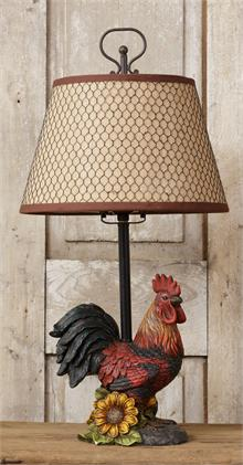 aspect product chairish lamp rooster vintage italian majolica fit image height width of