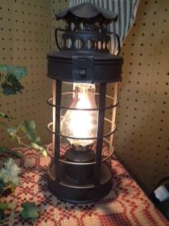 Lantern-Rustic Brown