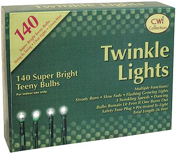 Teeny BulbsTWINKLE Lights