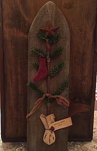 #CFTBCS1116 Christmas Feather Tree Board
