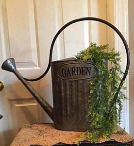 #CSWC0517 Watering Can w/Greenery